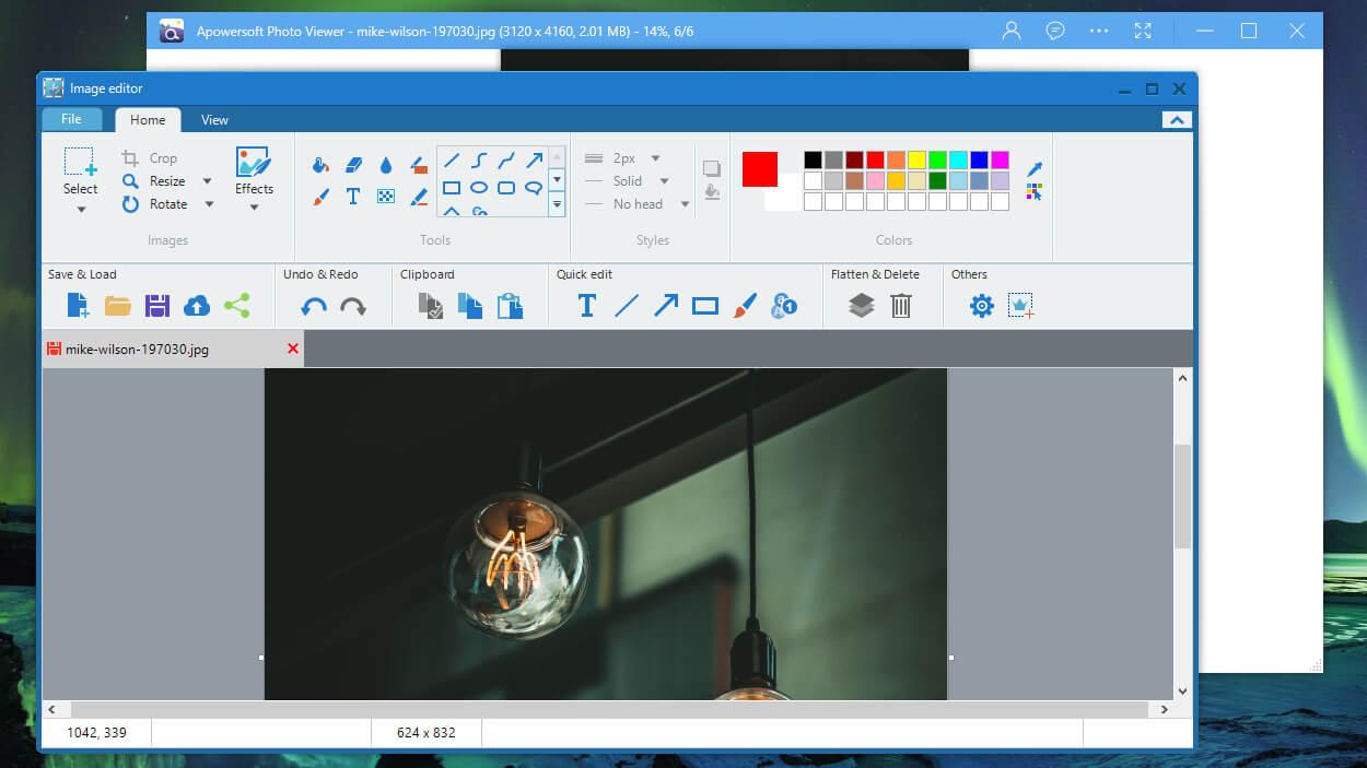 Phần mềm quản lý ảnh Apowersoft Photo Viewer