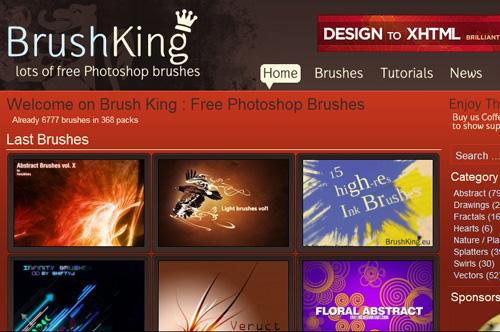 Brushing - website cung cấp cọ Brush miễn phí