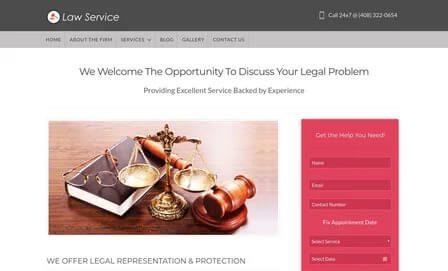 Theme LawService