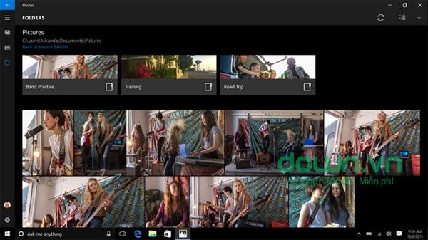 Phần mềm quản lý ảnh Microsoft Photo
