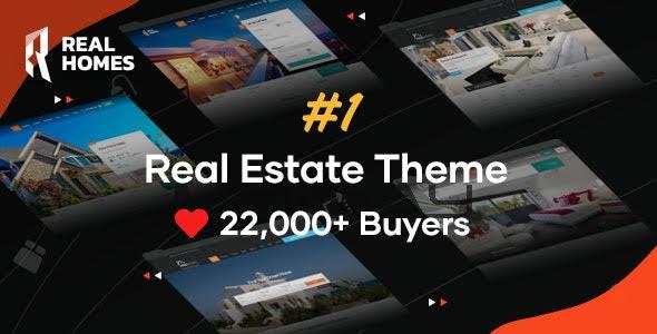 RealHomes theme wordpress bất động sản