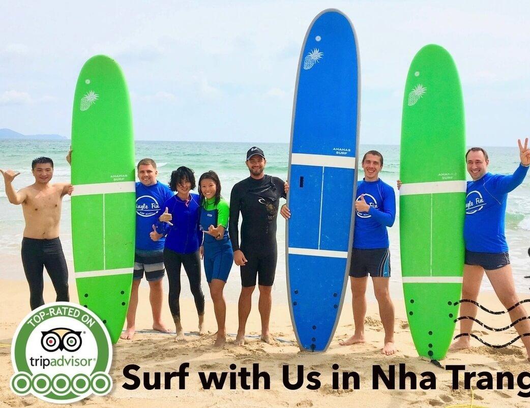 Địa điểm Lướt sóng Single Fin Surf School