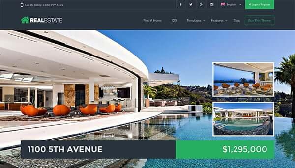Wp Real Estate xứng đáng là một trong những theme wordpress bất động sản tốt nhất hiện nay