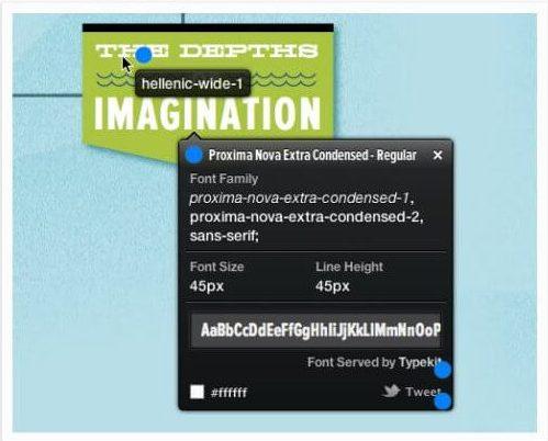 Công cụ nhận diện font chữ Whatfont Tool
