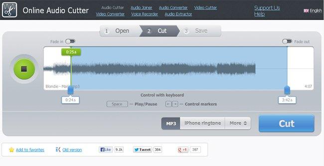 Phần mềm MP3 Cutter