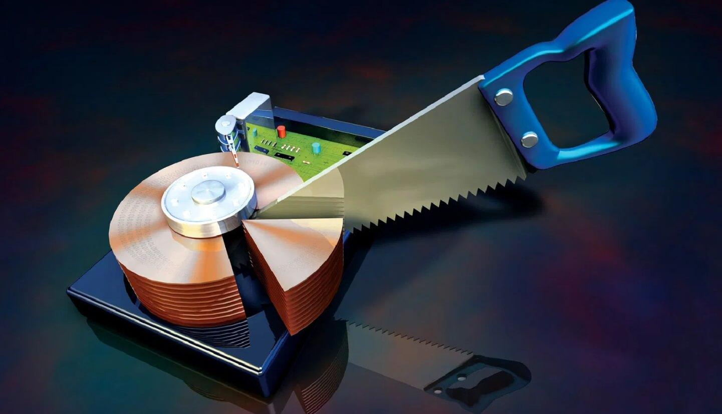 Phân vùng ổ cứng là gì