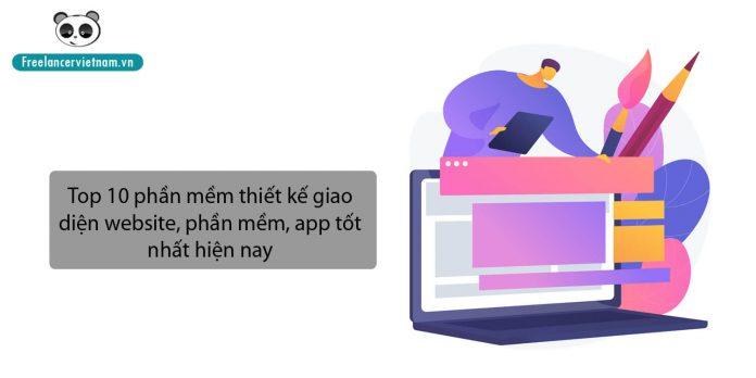 Top 10 phần mềm thiết kế giao diện website