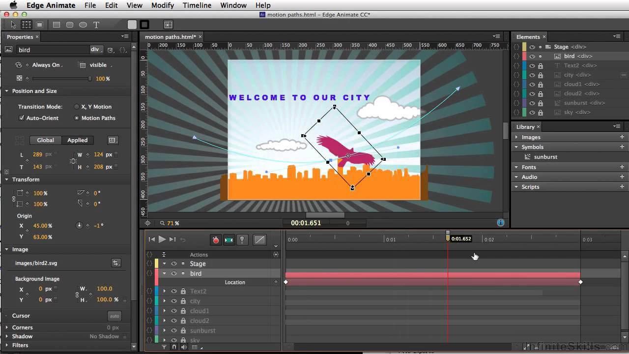 Phần mềm làm phim hoạt hình Adobe Animate CC