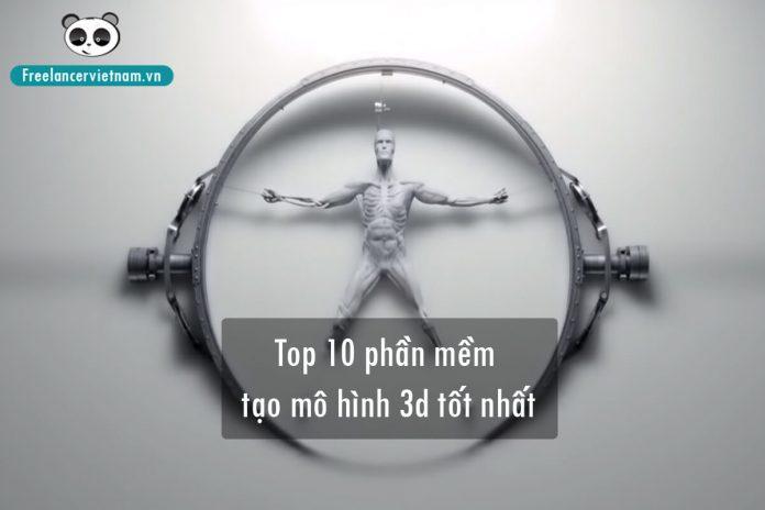 Top 10 phần mềm tạo mô hình 3D miễn phí
