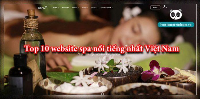 Top 10 website spa
