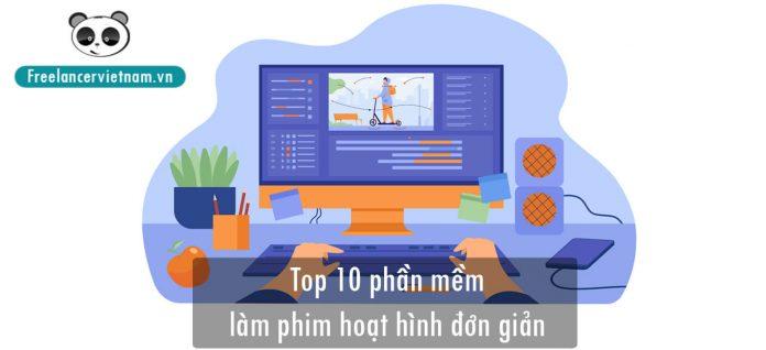 top 10 phần mềm làm phim hoạt hình